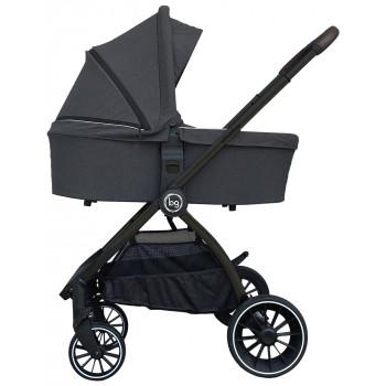 Детская коляска Bubago Lacio 3в1 (черная рама)
