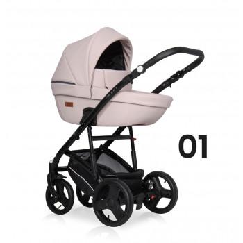 Детская коляска Riko Basic Aicon Pastel 3в1