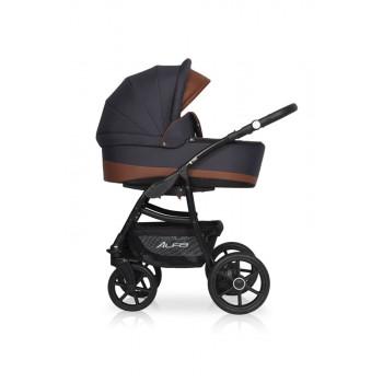 Детская коляска Riko Basic Alfa Ecco 3в1