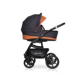 Детская коляска Riko Basic Alfa Ecco 2в1