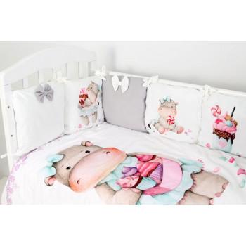 Комплект в кроватку Топотушки Глория (6 предметов) 682