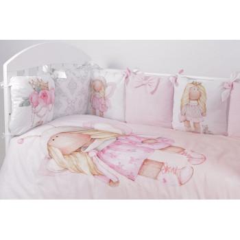 Комплект в кроватку Топотушки Принцесса Фей (6 предметов) 694