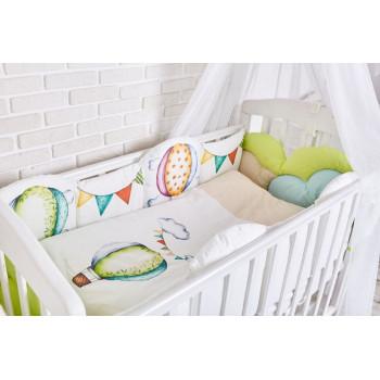 Комплект в кроватку Топотушки Воздушные шары (6 предметов) 691