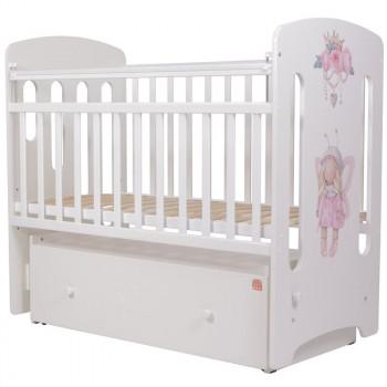 Кроватка детская Топотушки Принцесса Фей с маятником